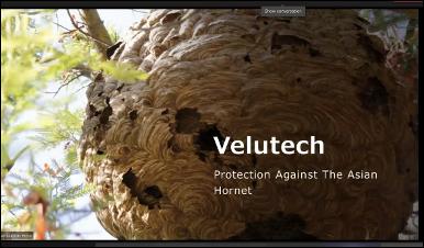 Presentation Velutech by Pillado Garcia-Gesto Pedro