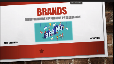 Presentation BRANDS by Sobtamfo Kelifack Mike Johan.
